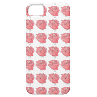 water colour rose iPhone 5 covers