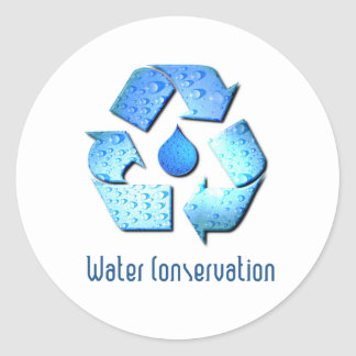 Water Conservation Sticker