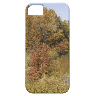 WATER CONTROL DAM AND AUTUMN TREES CASE FOR THE iPhone 5