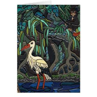 Water Crane Card