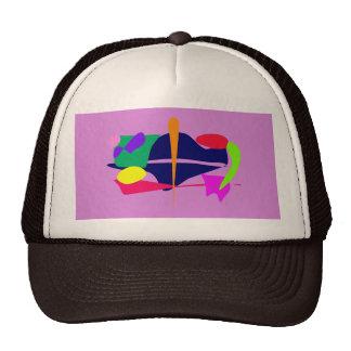 Water Creature Deep Mauve Trucker Hats