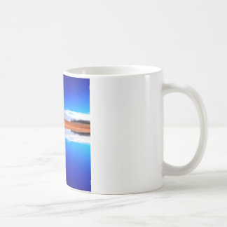 Water Crystal Clear Above And Below Basic White Mug
