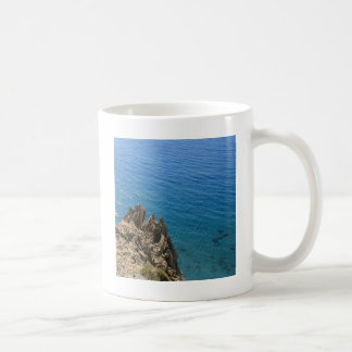 Water Crystal Clear Seashore Basic White Mug