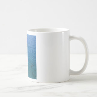 Water Crystal Clear Seashore Basic White Mug