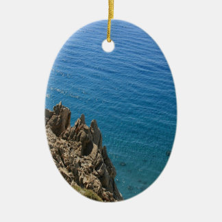 Water Crystal Clear Seashore Christmas Ornament