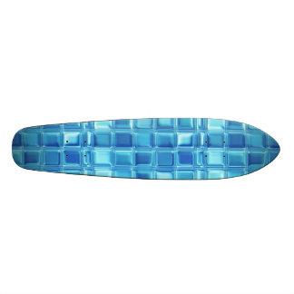 Water Cubed Glass Tile Art Skate Board Deck