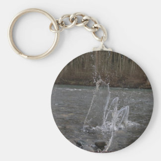 Water Dance controller skin Basic Round Button Key Ring