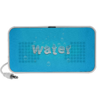 Water design portable speaker