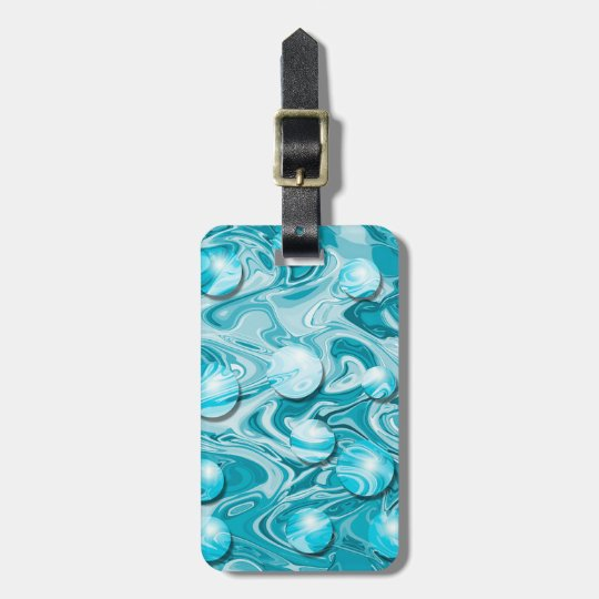 Water Discs Luggage Tag