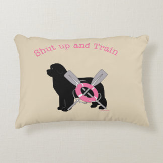 Water dogs rule! decorative cushion