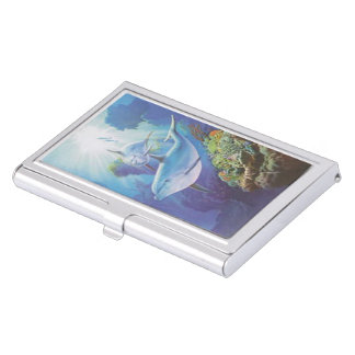 Water Dolphin Business Card Holder