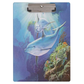 Water Dolphin Clipboard