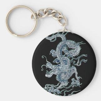 Water Dragon 2012 Basic Round Button Key Ring