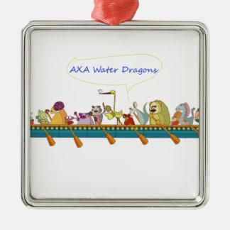 Water Dragon Christmas Ornament