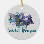 Water Dragon Christmas Tree Ornaments