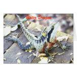 Water Dragon Greeting Cards