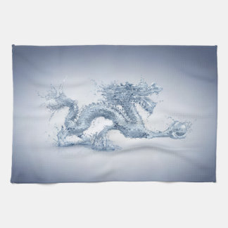 Water Dragon Kitchen Towel