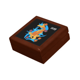 Water Dragon Koi Fish,  Gift Box
