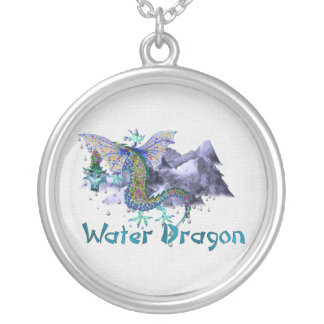 Water Dragon Personalized Necklace