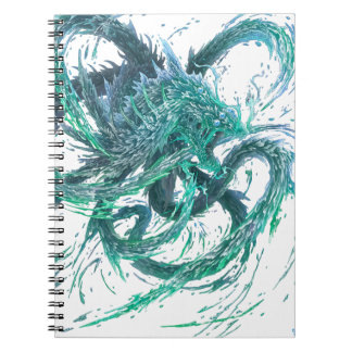 Water dragon notebook