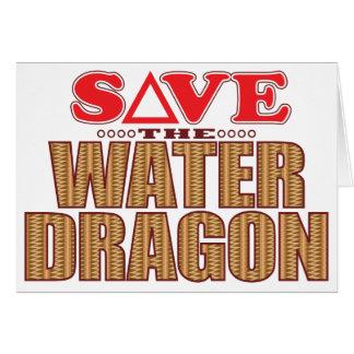 Water Dragon Save Card