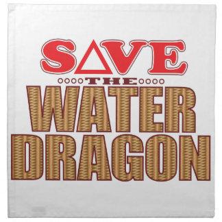 Water Dragon Save Napkin