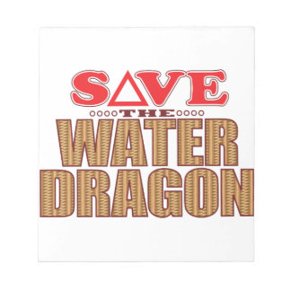 Water Dragon Save Notepad
