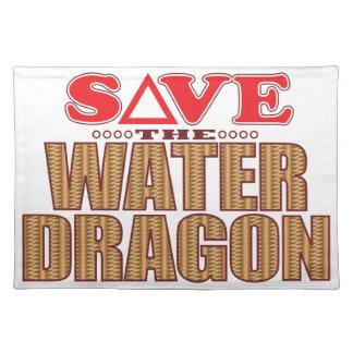 Water Dragon Save Placemat