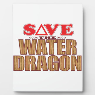 Water Dragon Save Plaque