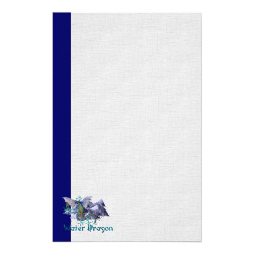 Water Dragon Stationery Paper