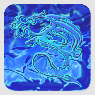 Water Dragon Sticker