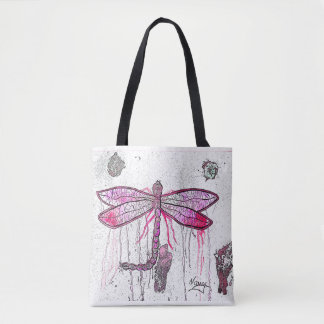 Water Dragonfly Tote Bag
