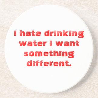 water drink coaster
