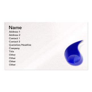 water_drop_2_Vector_Clipart Business Card Templates