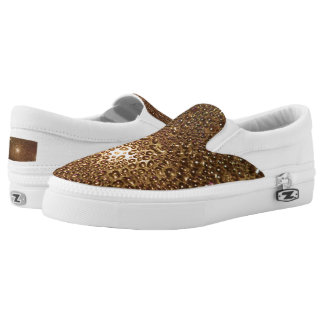 Water Drop Custom Zipz Slip On Shoes,  Men & Women
