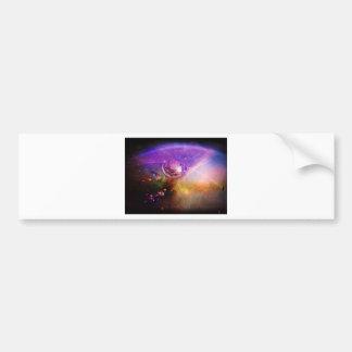 Water Drop in Violet Magic Bumper Sticker