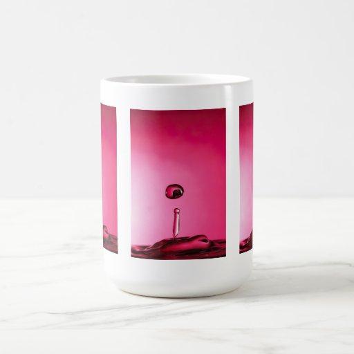 Water drop mugs