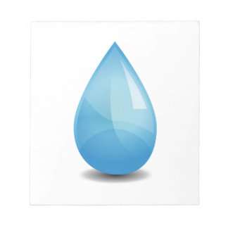 Water drop notepad