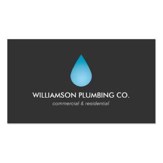 Water Drop Plumbing, Plumbers Business Card