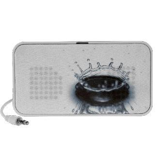 Water drop splash speaker system