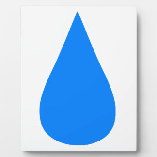 Water Droplet Display Plaques