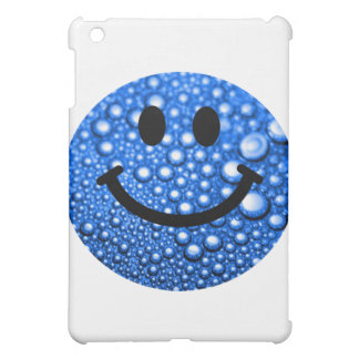 Water droplets smiley cover for the iPad mini