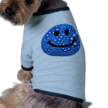 Water droplets smiley dog shirt