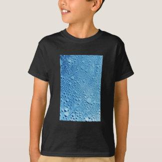 Water drops blue background design T-Shirt