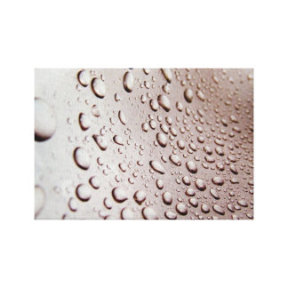 Water Drops Stretched Canvas Prints