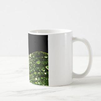 Water Drops Crystal Clear Fine glass tiles Beautif Basic White Mug