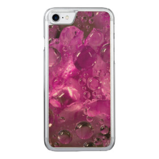 Water drops on flower, California Carved iPhone 7 Case