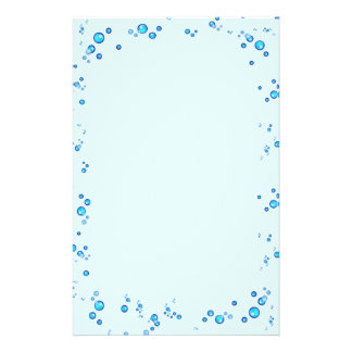 Water Drops Stationery