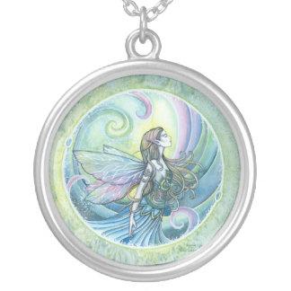 Water Element Fairy Pendant Necklace