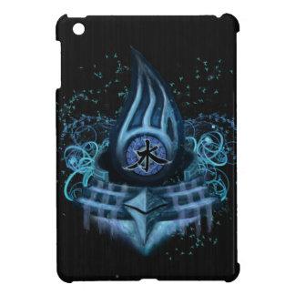 Water Element Kanji Illustration Art iPad Mini Case
